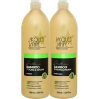 Kit De Shampoo & Condicionador Bamboo Strong + Tough- 1Ljacques Janine