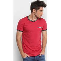 89732e4b65 ... Camiseta Polo Rg 518 Retilínea Masculina - Masculino-Vermelho