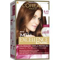 Coloração Imédia Excellence Creme N°6.41 Marrom Imedia 47G