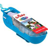 Bebedouro Para Cão Drinks Plast Pet Portátil Azul 500Ml 1 Unidade
