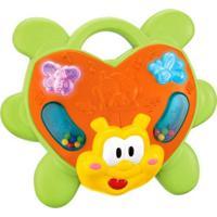 Brinquedo Dican Animais Musicais Joaninha Multicolorido