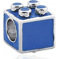 Berloque / Pingente Prata Lego Azul Encanto