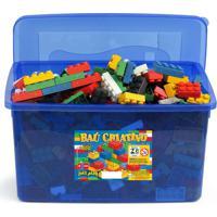 Baú Criativo Jottplay Com 1000 Peças Lego