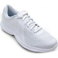 Tênis Nike Revolution 4 Feminino - Feminino-Branco
