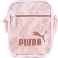 Bolsa Puma Shoulder Bag Core Up Rosa - Kanui