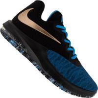 Tênis Nike Air Max Infuriate Iii Low - Masculino - Preto/Azul
