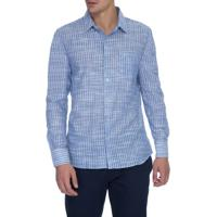 Camisa Slim Listra Rustica Espaçada Gene - 2