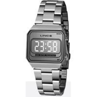 Relógio Lince Classico Feminino - Feminino-Prata
