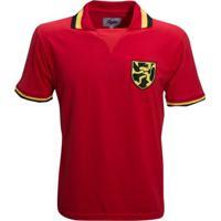 Camisa Liga Retrô Bélgica 1960 - Masculino