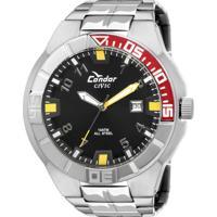 E Clock  Relógio Condor Masculino Civic Kc20985 3R 22dd61f103