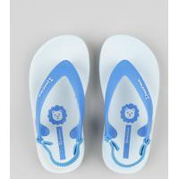 Chinelo Infantil Ipanema Com Elástico Azul Claro