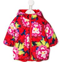 Kenzo Kids Jaqueta Com Estampa Floral Japonesa - Vermelho