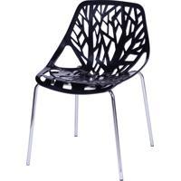 Cadeira Folha Pucón – Preta