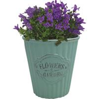 Cachepot Urban Home De Cerâmica Verde Cute Pleat Bucket N