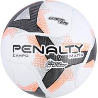Bola De Futebol De Campo Penalty Matís Termotec Viii - Branco Laranja 687a87f7261eb
