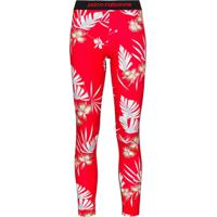 Paco Rabanne Legging Com Estampa Floral - Vermelho