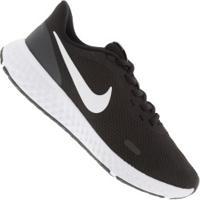 Tênis Nike Revolution 5 - Feminino - Preto/Branco