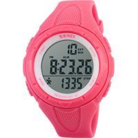 Relógio Pedômetro Skmei Digital 1108 Rosa