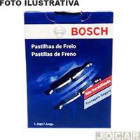 Pastilha Do Freio - Bosch - Fiorino 1988 Até 1995 / Tempra 1993 Até 1999 - (Teves) - Dianteiro - Jogo - Pe-32-0986Bb0271
