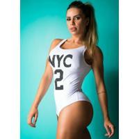 Body Fitness Supplex Alças Nyc2 Branco