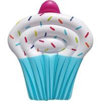 Bóia Inflável Gigante Cupcake - Unissex