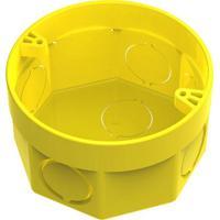 Caixa De Embutir 3X3 Amarela - Tigre - Tigre