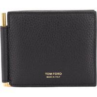 Tom Ford Money Clip Wallet - Preto