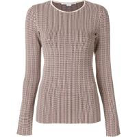 Stella Mccartney Blusa De Moletom Xadrez - Estampado