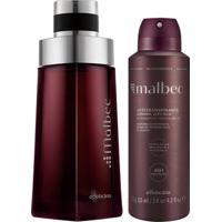 Combo Malbec: Desodorante Colônia + Desodorante Aerosol