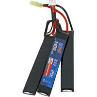 Bateria Para Airsoft Lipo 11.1V 20C 1400Mah Nunchu - Unissex