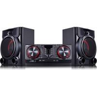 Mini System Lg X Boom Cj65 810W Rms Com Multi Bluethooth Dual Usb E Luzes Multicoloridas – Bivolt
