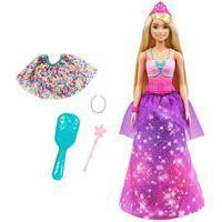 Barbie Dreamtopia 2 Em 1 Princesa E Sereia - Mattel