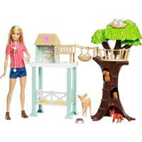 Boneca Articulada 30 Cm - Barbie - Barbie Profissões - Cuidadora De Bichinhos - Mattel - Feminino-Incolor