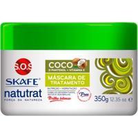Máscara De Tratamento Coco Skafe Naturat Sos Força Da Natureza 350G - Unissex-Incolor