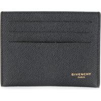 Givenchy Porta-Cartões Com Efeito Granulado - Preto