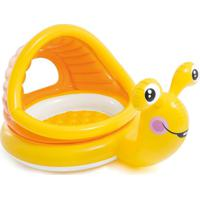 Piscina Infantil Caracol Preguiçoso 53 Litros Amarelo 57124 Intex