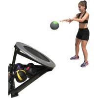 Trampolim Para Medicine Ball Crossfit Treino Funcional Wct Fitness - Unissex
