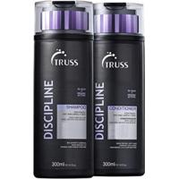 Kit Truss Discipline Sh300Ml E Condicionador300Ml Anti Frizz - Unissex-Incolor