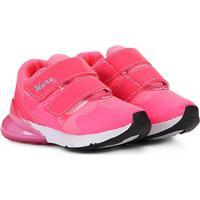 Tênis Infantil Kurz Velcro - Feminino-Pink