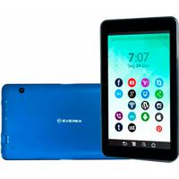Tablet Everex Quadcore 8Gb Azul