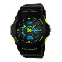 Relógio Skmei Infantil -0955- Preto E Verde