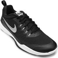 Tênis Nike Legend Trainer Masculino - Masculino-Preto+Prata