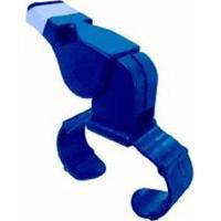 Apito Dedal Profissional C/ Bocal De Silicone - Gold Sports - Unissex-Azul Royal