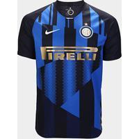 Camisa Inter De Milão 20 Anos Edição Especial - Torcedor Nike Masculina - Masculino