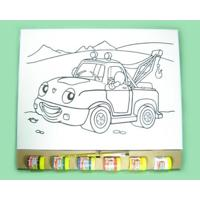 Kit Tela G Kits For Kids Caminhão Guincho Multicolorido