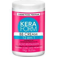 Creme Para Pentear Skafe Keraform Bb Cream 12 Em 1 1Kg - Unissex-Incolor