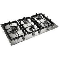Cooktop À Gás De 5 Bocas Brastemp Com Acendimento Superautomático Gourmand Inox - Bdk90Drbna