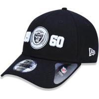c88f9aed7a704 ... Boné 940 Oakland Raiders Nfl Aba Curva Strapback New Era -  Masculino-Preto
