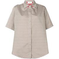 Ports 1961 Camisa Mangas Curtas Xadrez - Verde