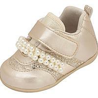 Tênis Baby Plis - Feminino-Dourado